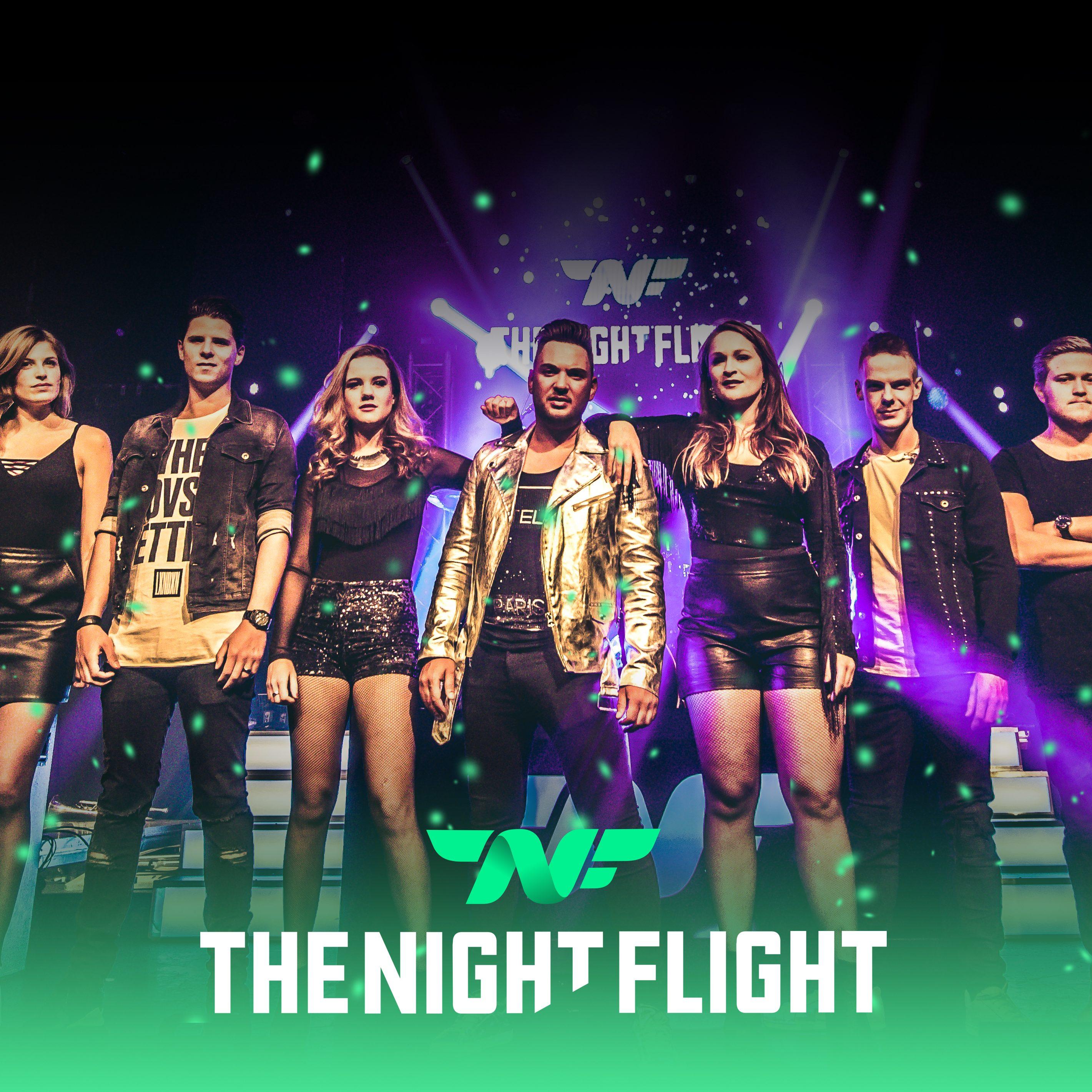 Wil jij een geweldige live band boeken, dansen tot je niet meer kan... The Night Flight maakt er een feestje van. Boek nu via boekingsbureau de V.I.P. fabriek.